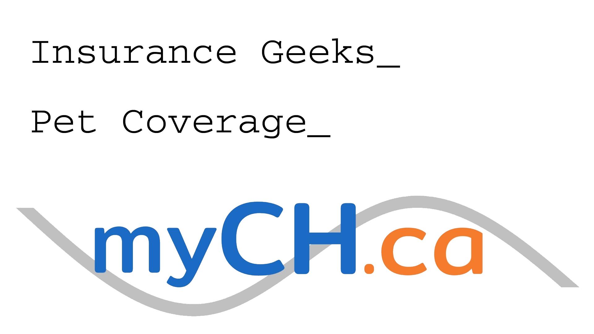 Insurance Geeks – Pet Insurance