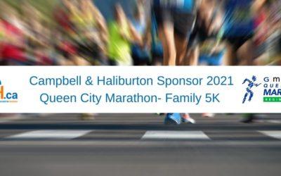 Campbell & Haliburton Sponsor 2021 Queen City Marathon